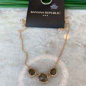 Banana Republic semi precious stone necklace
